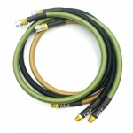 HPA S&F hose Mk.II - female QD + 1/8NPT - 100cm with braided