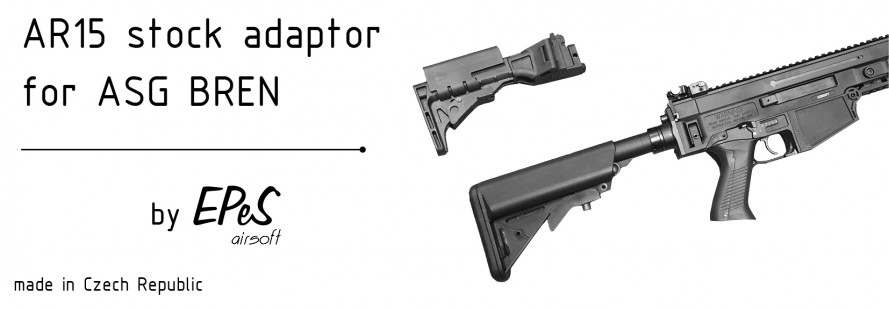 AR15 adaptor for BREN